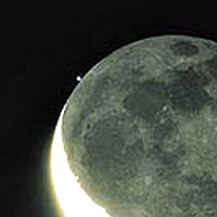Here is an image of the Moon grazing the star Spica.