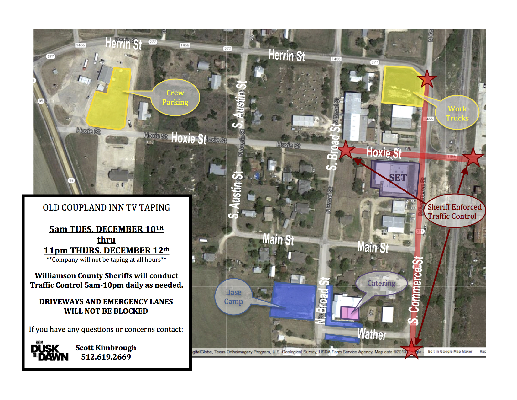 Coupland Parking Overview