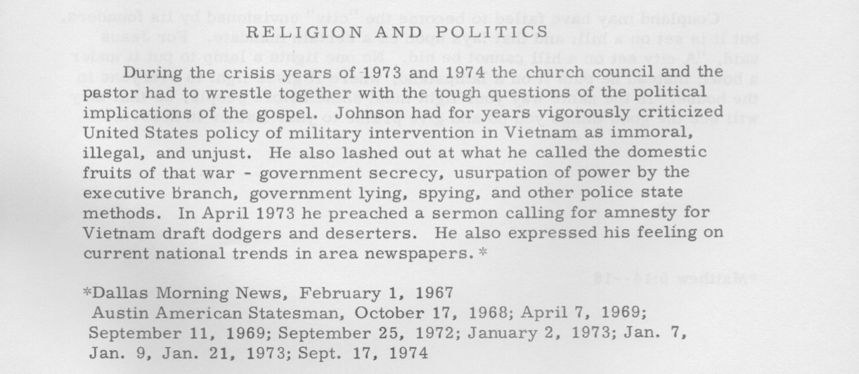 Religion & Politics 1