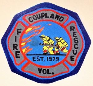 Coupland Fire Dept Logo